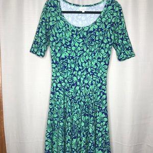 Medium Lularoe Nicole Dress